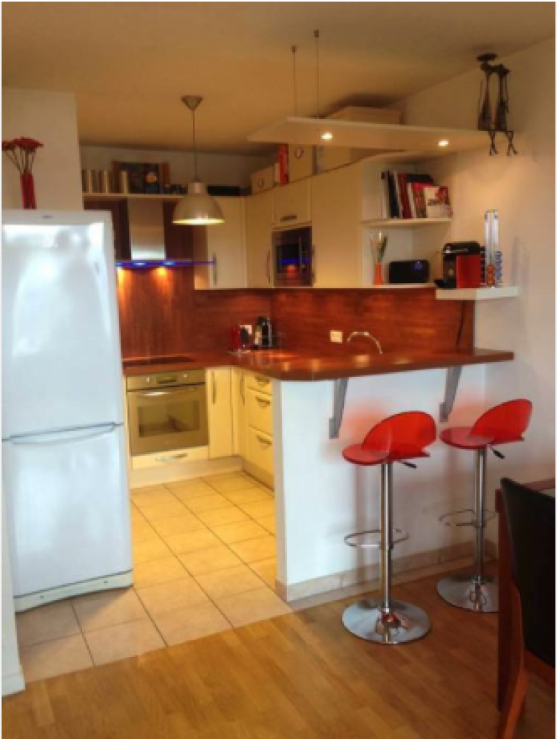 Vente appartement clamart 92 habitat adapt for Cuisine ouverte erp