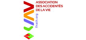 Logo de l'association des accidentés de la vie.